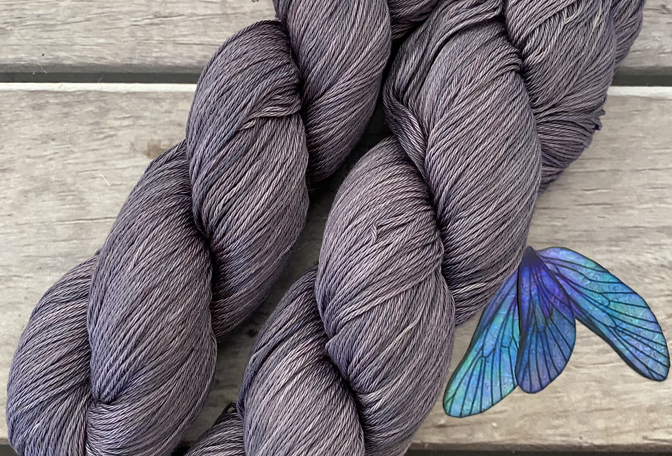 Wisteria in 4 ply Pima Cotton - Wei Shan