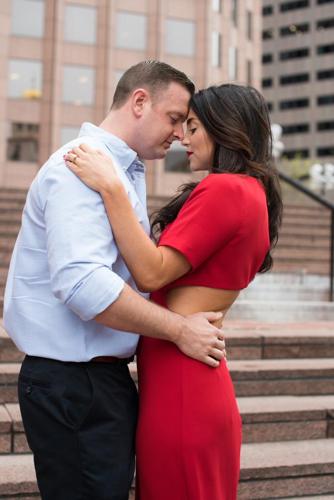 Megan + Joe: Boston Engagement Photography