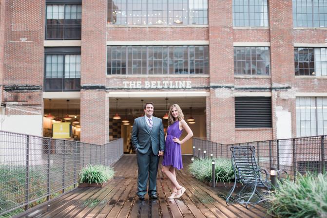 Ashley + Dan: Atlanta Engagement Photography