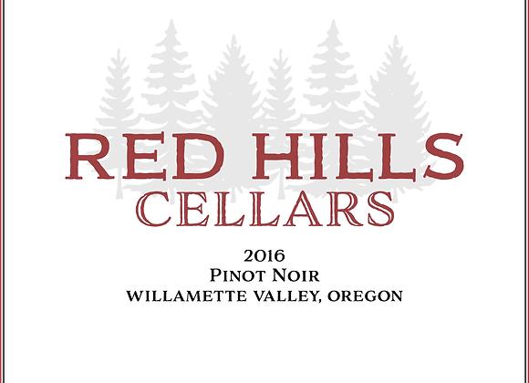 2016 Red Hills Cellars Willamette Valley Pinot Noir 12 pack