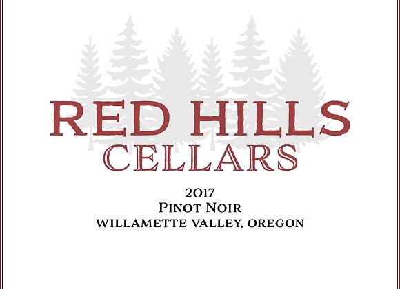 2017 Red Hills Cellars Willamette Valley Pinot Noir 12 Pack