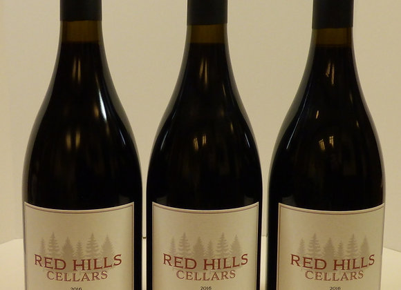 2016 Red Hills Cellars Willamette Valley Pinot Noir 3 Pack
