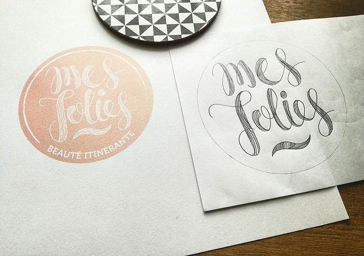Création du logo MesJolies