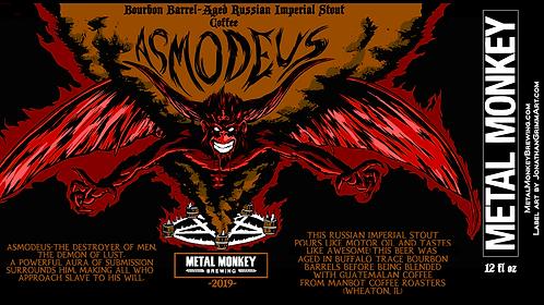 2019 Barrel-Aged Asmodeus w/Coffee 32oz Crowler