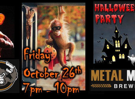 All Hallows' Eve Party & Costume Contest at Metal Monkey!
