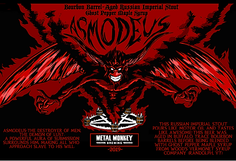 Ghost Pepper Maple Barrel Aged Asmodeus 2-Pack