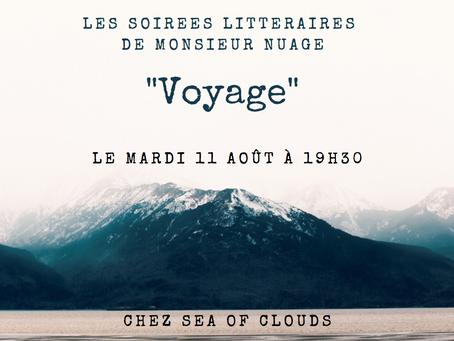 Les soirées littéraires de Monsieur Nuage