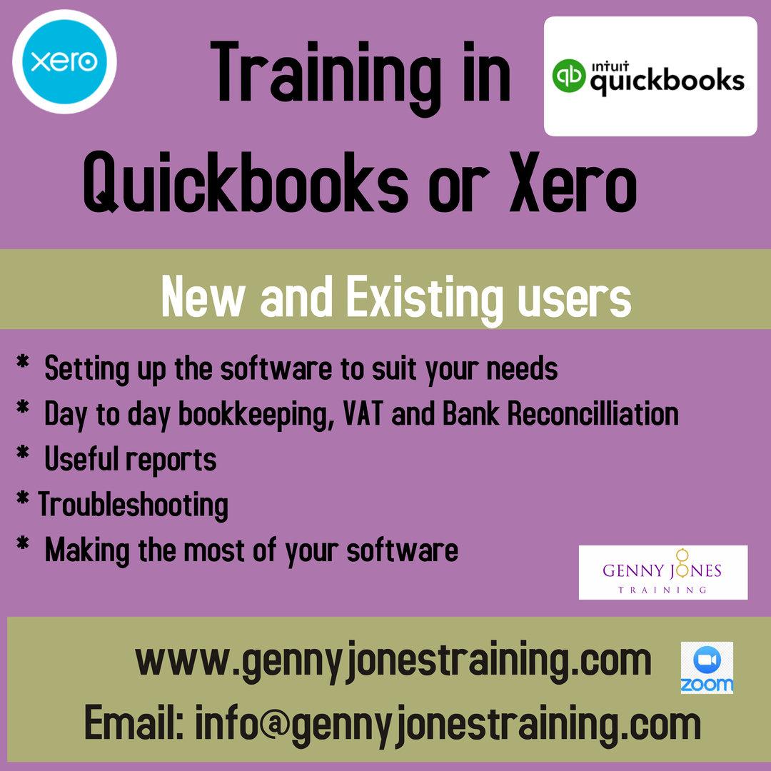 Quickbooks or XERO  Training