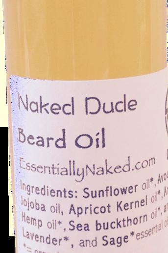 Naked Dude Beard Oil
