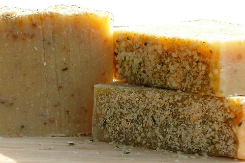 Grapefruit and Patchouli Hemp Seed Oil Body Soap