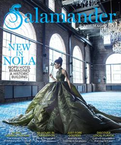 SALAMANDER MAGAZINE COVER