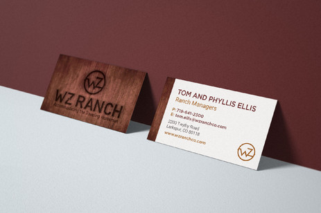 WZ Ranch Logo & Branding