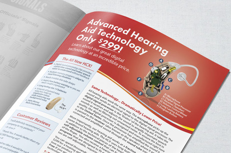 Advanced Affordable Hearing Collateral & Photography