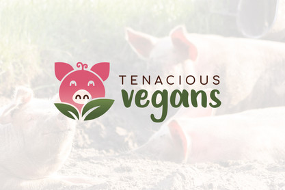 Tenacious Vegans Logo