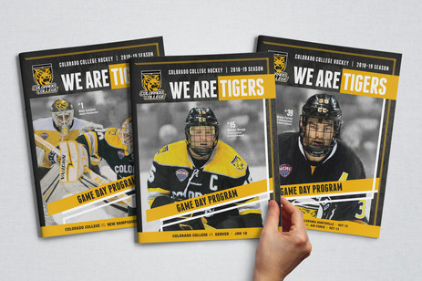 Colorado College Hockey 2018-19 Collateral