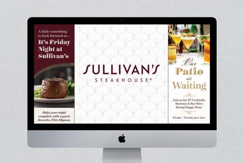 Sullivan's Steakhouse Digital Collateral