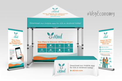 vKind Event Collateral & Swag