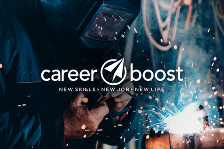 Career Boost Logo, Branding & Collateral