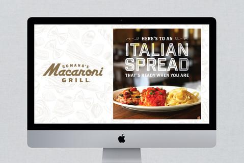 Romano's Macaroni Grill Collateral