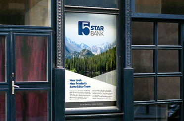 5Star Bank Identity, Branding & Collateral