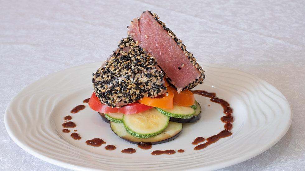 Tataki de atún (4 porciones)