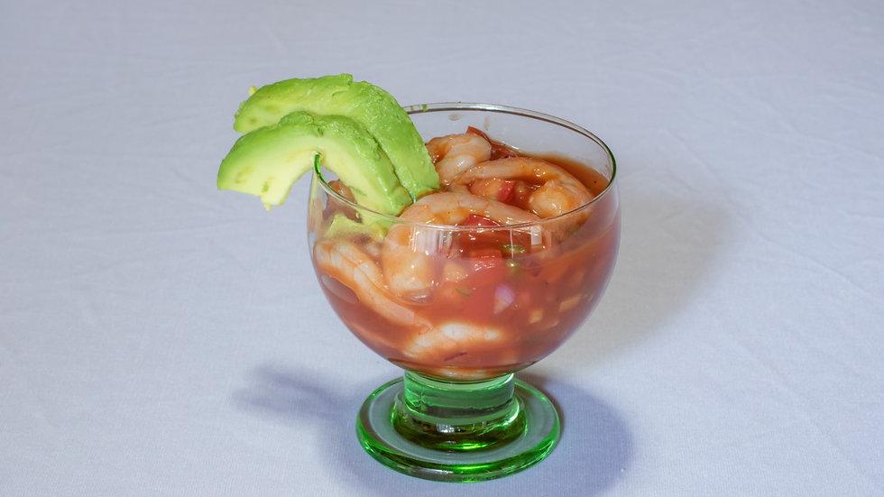 Coctel de camarones estilo acapulqueño (Chef Sofía Rodríguez)