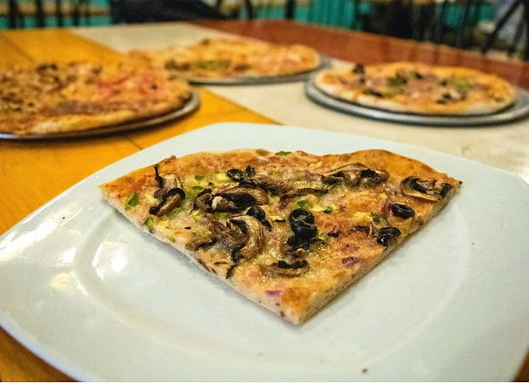 Pizza Vegetariana (Chef Gerardo Soberón)