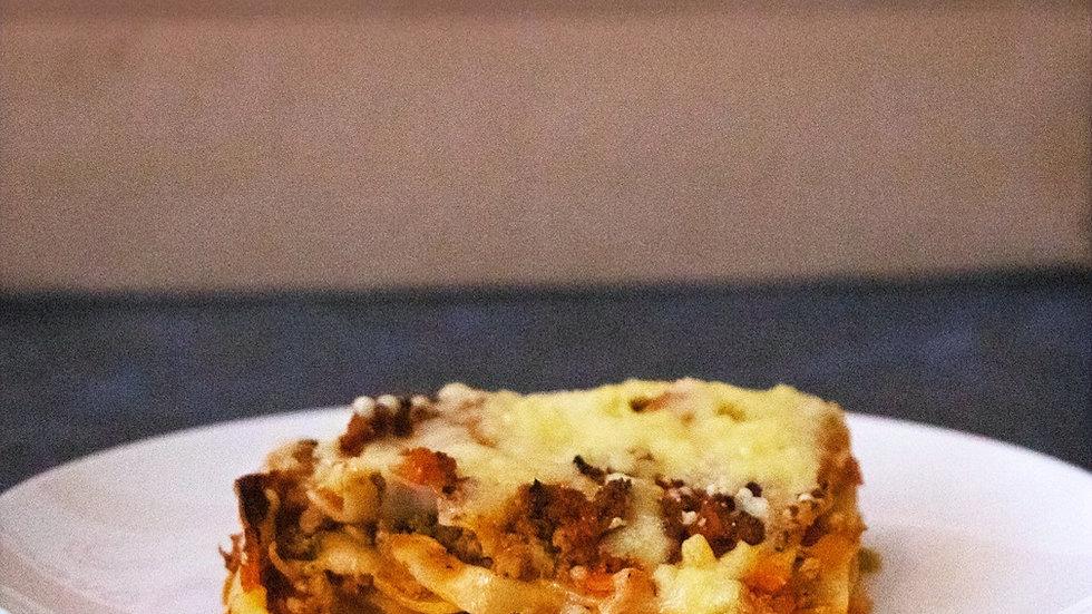 Lasagna Tradicional (6 porciones) (Chef Miguel Rodríguez)