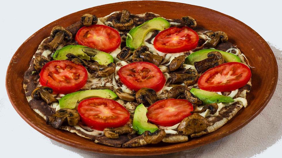 Tlayuda Vegetariana