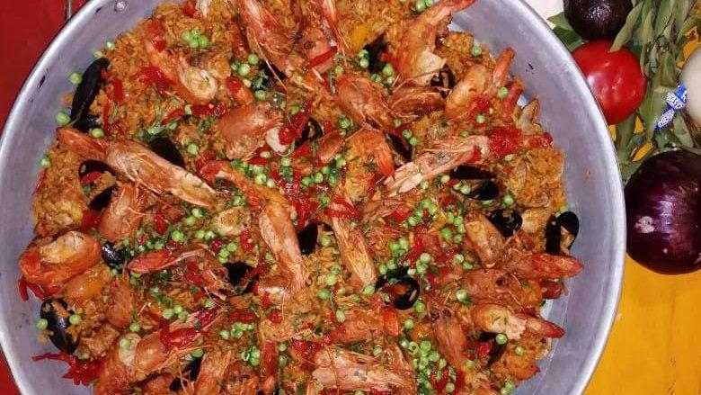 Paella Mixta (Solo sábados) (Chef Gerardo Soberón)