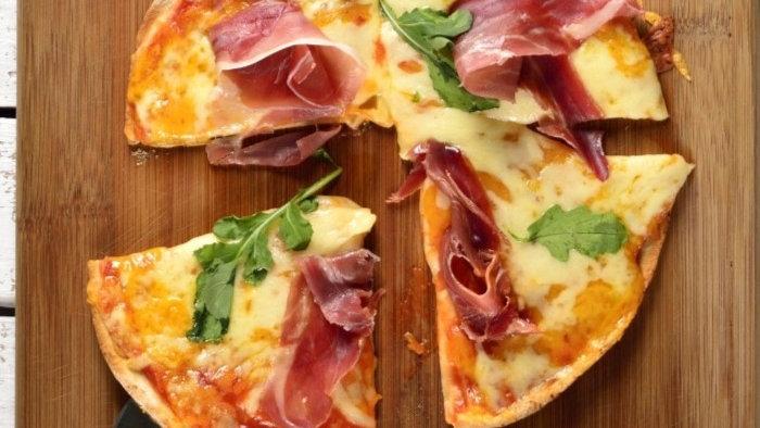 Pizza Jamón Serrano (Chef Gerardo Soberón)