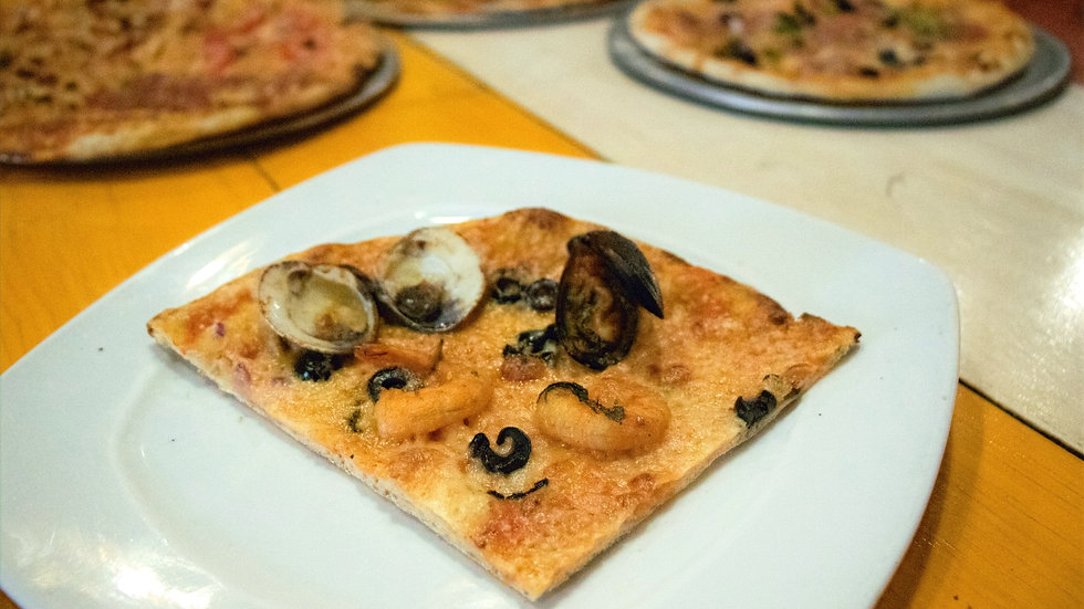 Pizza Marinera (Chef Gerardo Soberón)