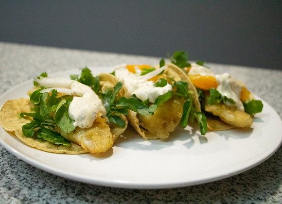 Tacos de Pescado (Chef Luis Alejandro Rubio)