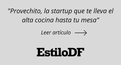 Provechito, la startup que te lleva el a