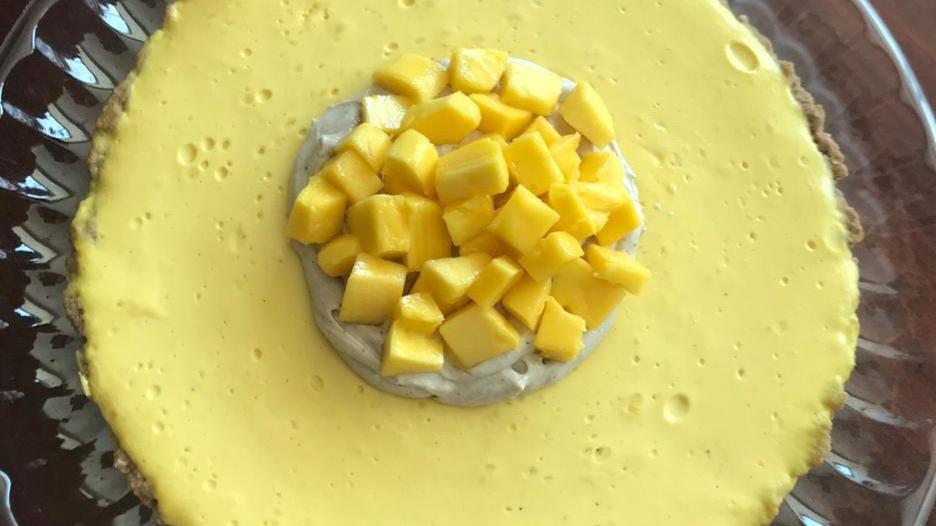 Pay de Mango Healthy (Chef Ana Gaby Trujillo)