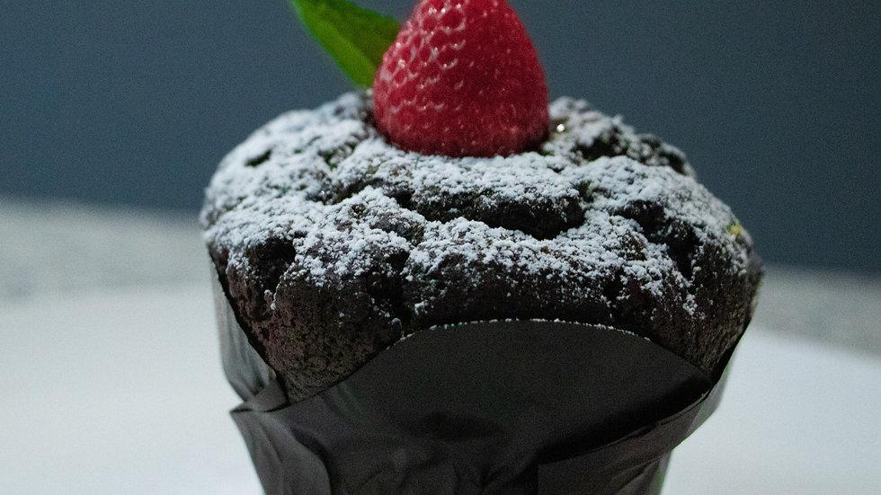 Souffle de Chocolate (Chef Luis Alejandro Rubio)