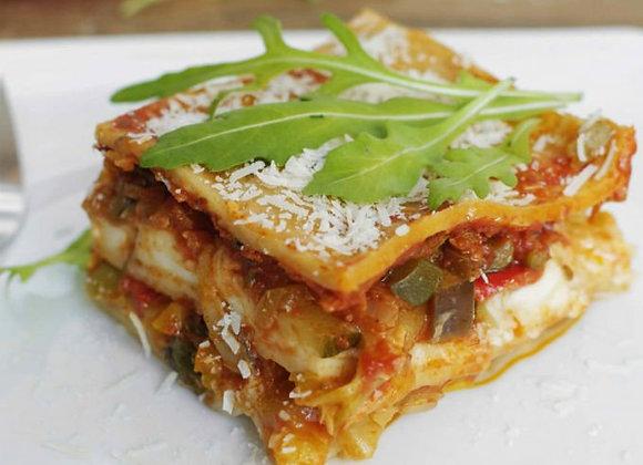 Lasagna Vegetariana (Chef Oscar Alvarado)