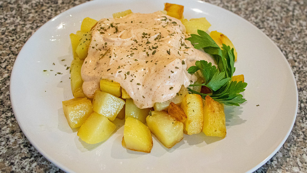 Patatas Bravas (Chef Diana Rosales)
