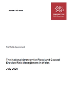 2020 Welsh National FCERM Strategy Report Cover