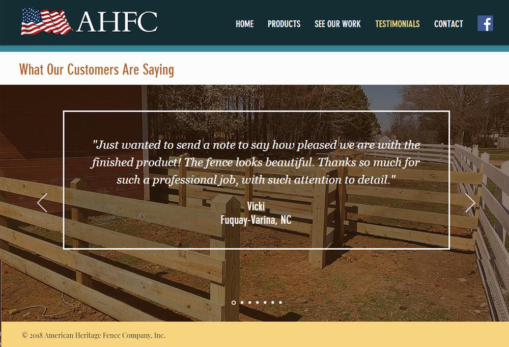 American Heritage Fence Company