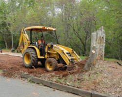 Removing posts with front end loader