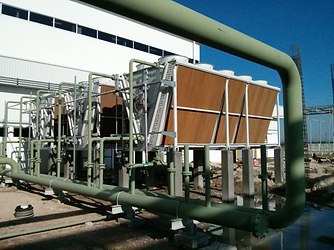 Guntner air cooled fluid condenser