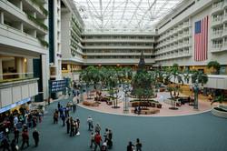 Orlando Airport Lobby HVAC