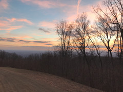 Sunset view from Pheasant Chase