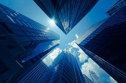 Office building skyscrapers
