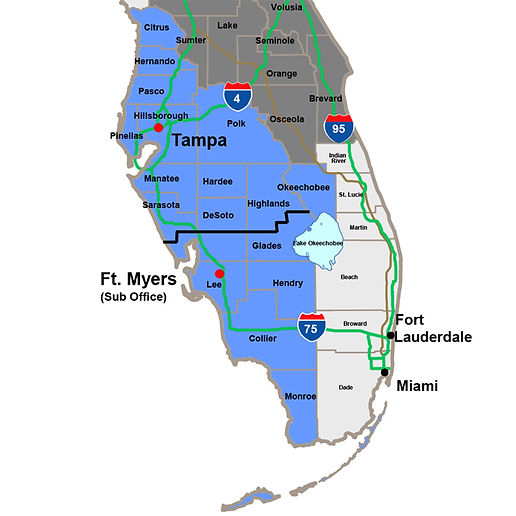 Carrll Air Tampa & Ft. Myers territories