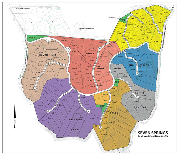 Seven Springs Master Site Plan