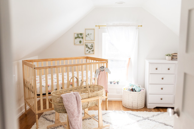 my pregnancy + nursery tour