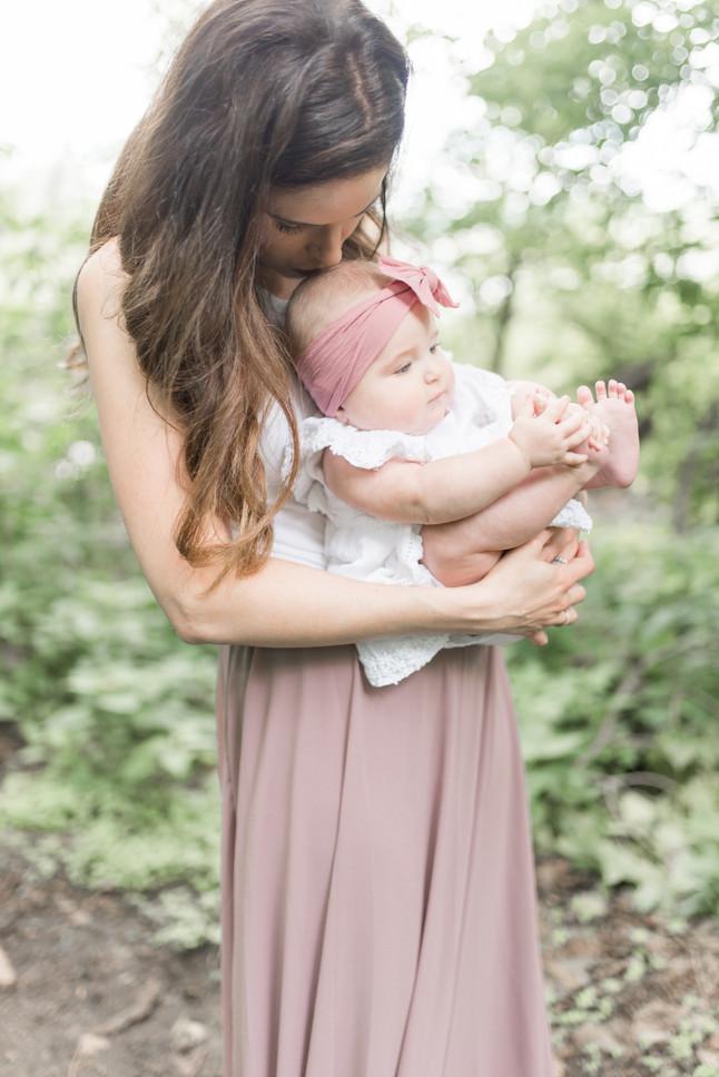 motherhood: anya + wren