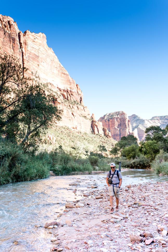 babymoon: Zion national park